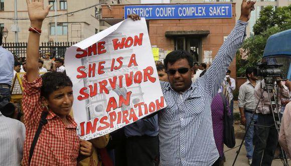 Pena de muerte para acusados de violación que conmocionó la India