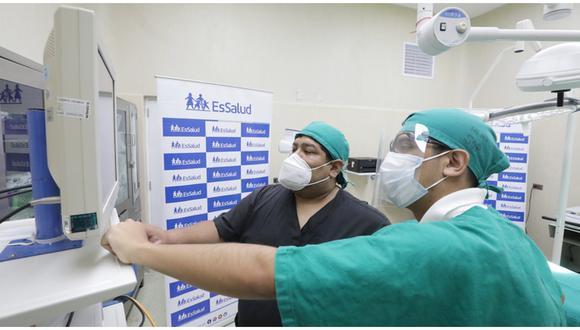 EsSalud inaugura centro quirúrgico en hospital Negreiros que permitirá realizar 1 500 cirugías al mes. (Foto: Difusión)