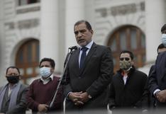 Abogado que defiende a congresista Guillermo Bermejo por terrorismo visitó al ministro del Interior