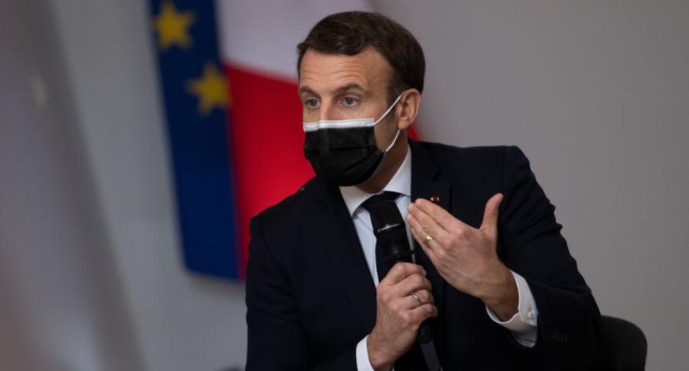 Imagen del presidente de Francia, Emmanuel Macron. (LOIC VENANCE / POOL / AFP).