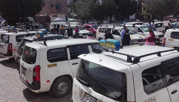 400 taxistas inician hoy con sus actividades en la ciudad de Puno