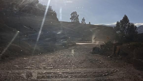 Carretera Huancavelica - Lircay.