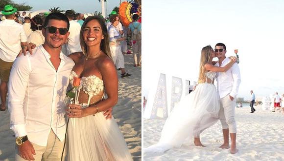 Mario Hart y Korina Rivadeneira sorprenden al renovar sus votos matrimoniales (FOTOS)