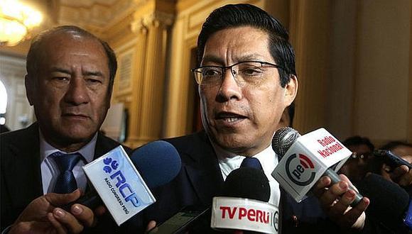 Vicente Zeballos negó que Gobierno haya analizado el tema del indulto para Alberto Fujimori