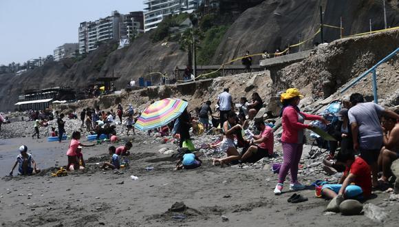 En las últimas semanas se ha visto la llegada de gran cantidad de personas a las playas. (Fotos Jesus Saucedo / @photo.gec)