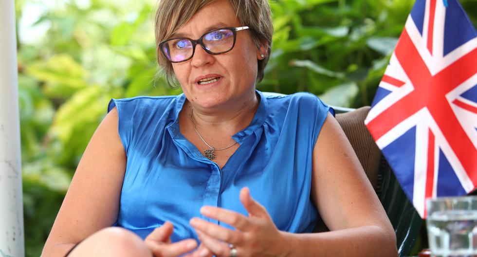 Imagen de la embajadora del Reino Unido en Perú, Kate Harrisson. (Foto: GEC).