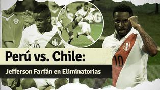 Repasa las veces que Jefferson Farfán enfrentó a Chile por Eliminatorias