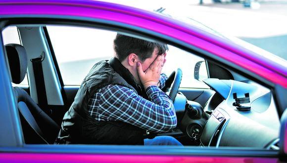 Cualquier motivo de tensión influye negativamente en la forma de conducir incrementando la probabilidad de sufrir o provocar un accidente.