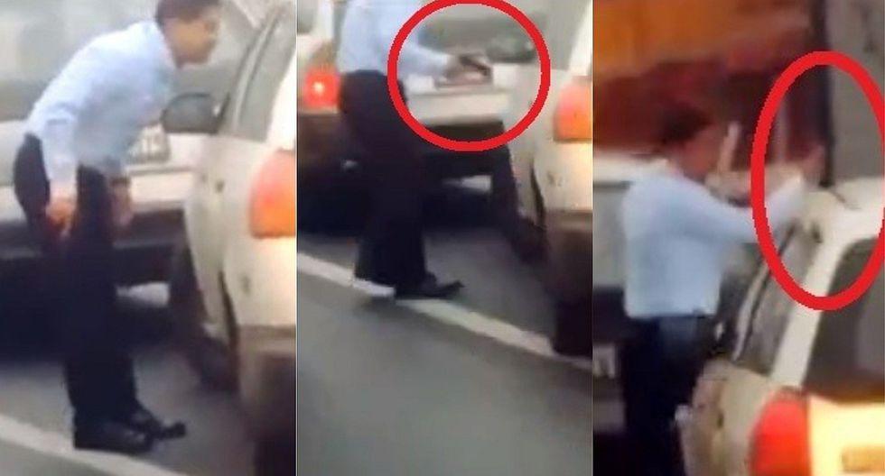 Conductor amenaza con una pistola a taxista en Caquetá (VIDEO)
