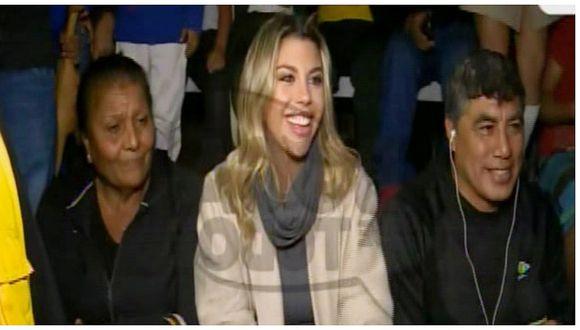 Alondra García Miró reaparece en TV junto a 'Doña Peta' y el hermano de Paolo Guerrero (VIDEO)