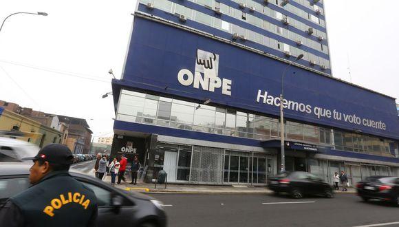 La JNJ inició el concurso público para nombrar a los nuevos jefes de la ONPE y Reniec el 31 de agosto. (Foto: El Comercio)