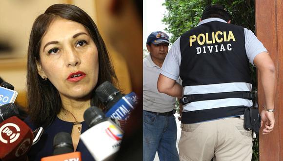 """Milagros Salazar considera que la Diviac """"coordinó"""" la discusión ocurrida en el Congreso"""