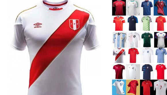 Top 50 de camisetas de fútbol: ¿qué puesto ocupa Perú?