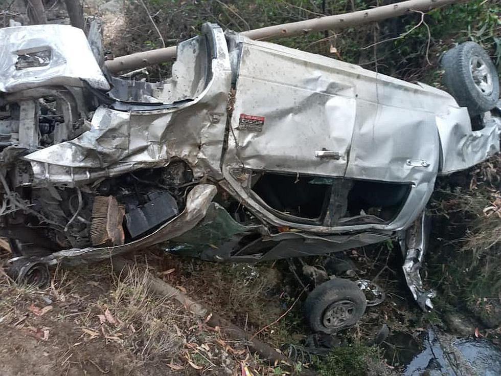 Ayacucho: tres policías mueren tras despiste de camioneta
