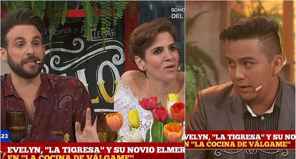 Peluchín y Gigi Mitre tienen tenso enfrentamiento con novio de la 'Tigresa' (VIDEO)