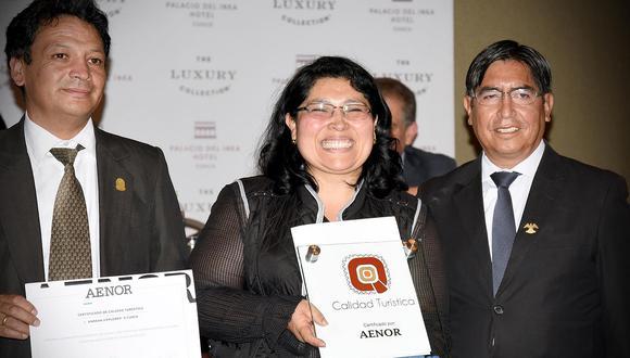 Certifican a empresas turísticas para una mayor competitividad en Cusco
