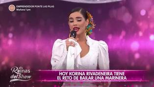 "Korina Rivadeneira en ""Reinas del show"": ""Yo soy quien soy gracias a Perú"" (VIDEO)"