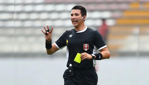 El árbitro Kevin Ortega dirigirá el partido entre Argentina y Bolivia. (Foto: Agencias)