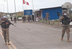 Piura: Decenas de contrabandistas han sido intervenidos