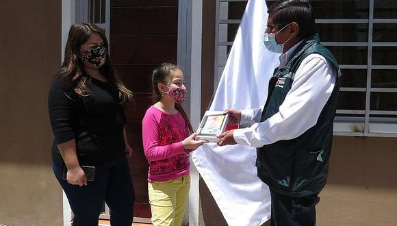 Autoridad Nacional del Agua premió a estudiantes ganadores de concurso