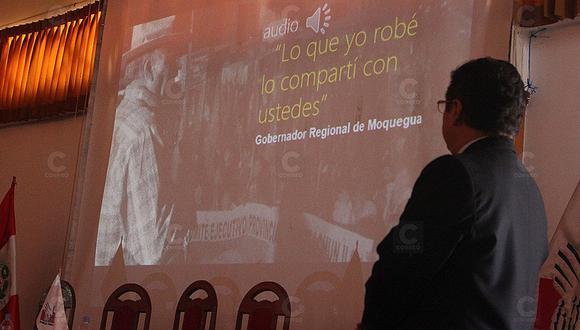 Video: Defensor del Pueblo recuerda que gobernador moqueguano reconoció haber robado en carreterilla