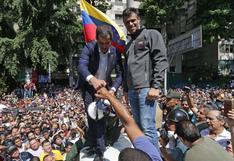 """Guaidó y López denuncian """"el fraude electoral"""" del próximo domingo en Venezuela"""