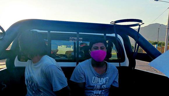 Detienen a jóvenes por el delito de robo agravado
