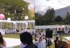 Intervienen matrimonio con más de 80 personas en Huánuco