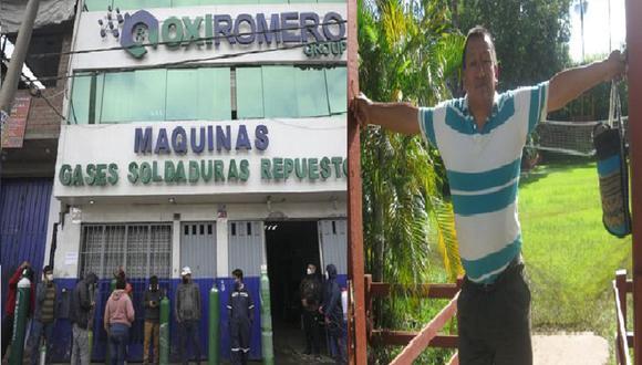 """Hampones se llevaron un carro de la empresa de quien en vida fue Mario Romero Pérez, conocido como el """"Ángel del oxígeno"""" de San Juan de Miraflores."""