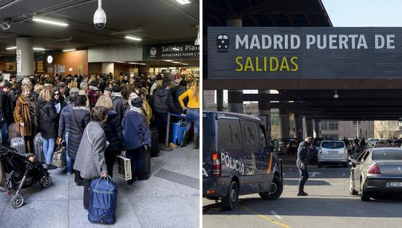 Pánico se desata en España por cinturón con forma de granada (FOTO)