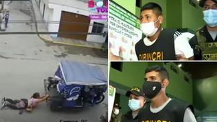 El Agustino: capturan a delincuentes que asaltaron y arrastraron a una mujer en un mototaxi