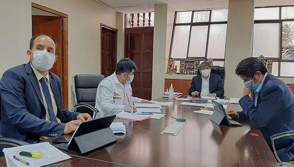 Gobierno regional continúa en el último en ejecución del presupuesto Covid-19