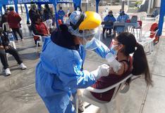 Comenzó vacunación en Tacna a niños de 12 años cumplidos a la fecha