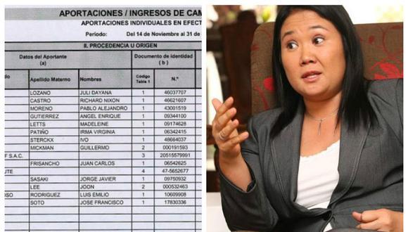 Keiko Fujimori tenía S/. 2.5 millones guardados para elecciones 2016