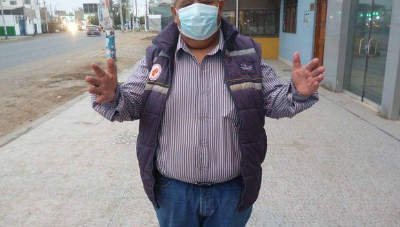 """Chincha: """"Gobernador deje de pensar en fierro y cemento, invierta en salud"""""""