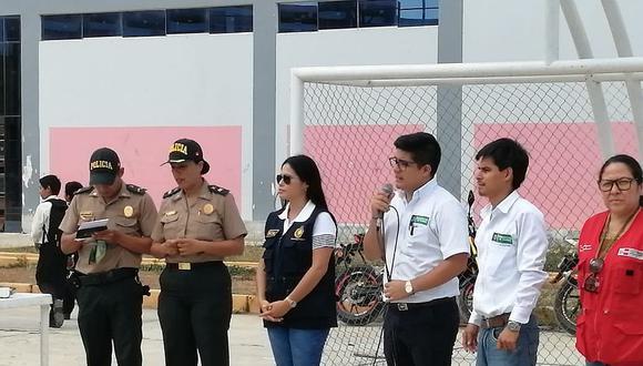 La Fiscalía dictó charla en el colegio Túpac Amaru en Tumbes