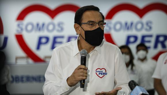 """Explicó que la nueva estrategia consiste en """"marcar claramente"""" que el candidato a la presidencia de la República es Daniel Salaverry y no Vizcarra."""