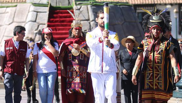 Juegos Panamericanos 2019: La Antorcha Panamericana ya salió de Cusco (VIDEO-FOTOS)