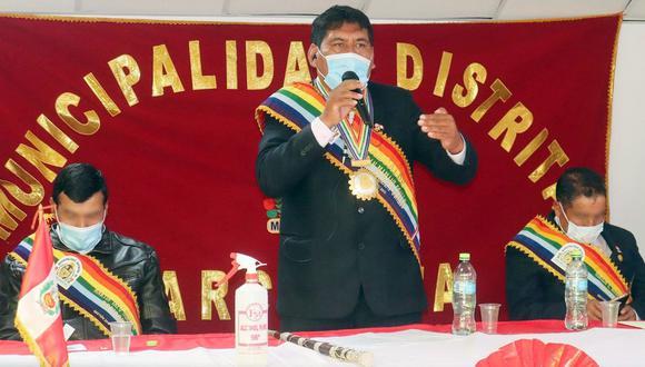 Alcalde de Marcapata acusado de intento de violación es detenido y espera audiencia de prisión preventiva.