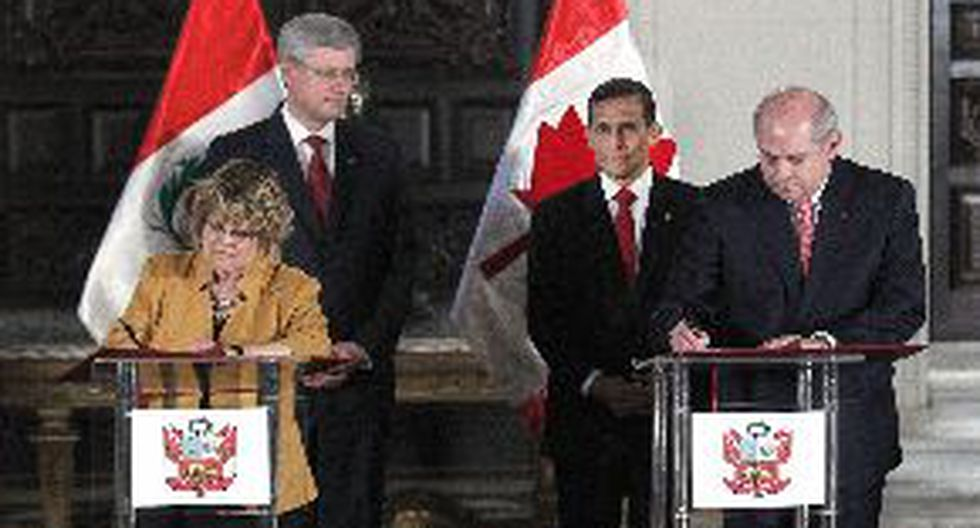 Perú y Canadá suscriben convenio en defensa