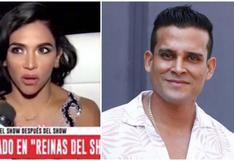 Vania Bludau confiesa que llamaría a Christian Domínguez como refuerzo en 'Reinas del Show' (VIDEO)