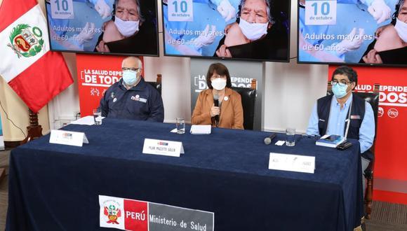 Mazzeti dijo que Perú ha tenido tasas de vacunación de hasta un 90% en últimos años, pero por la pandemia las cifras han caído a un 40%, lo que representa un verdadero peligro para los niños.