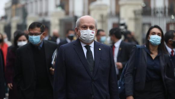 Pedro Cateriano duró 19 días como presidente del Consejo de Ministros. (Foto: GEC)