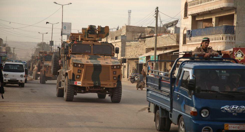 Las tropas del presidente sirio, Bachar al Asad, está contando con el apoyo de Rusia. (AFP).