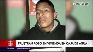 """Delincuente fue detenido y aseguró que """"robar casas"""" es un trabajo (VIDEO)"""