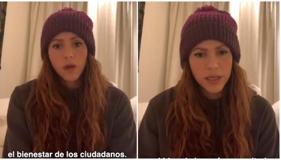"""Shakira pide a líderes del mundo implementar 15 días de """"distanciamiento social extremo"""". (Foto: Instagram)"""