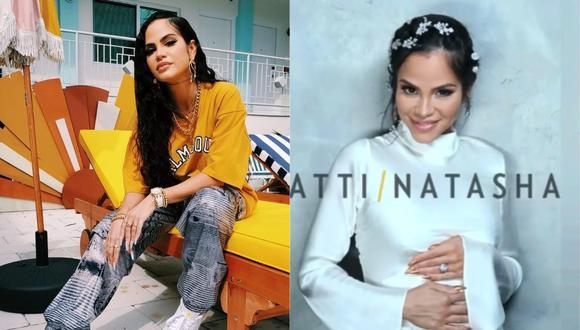 Natti Natasha anuncia que está embarazada. (Foto: @nattinatasha/@peopleenespanol)