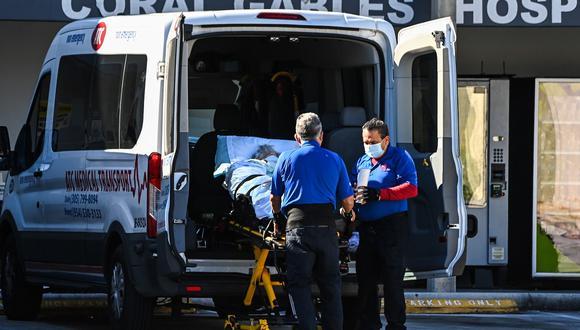 Con 111 nuevas muertes, ya son 23.261 las ocurridas en Florida a causa del nuevo coronavirus. (Foto: CHANDAN KHANNA / AFP)