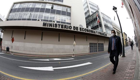"""""""Se les dio (a las empresas) más del 10% del Producto Bruto Interno (PBI) para capital de trabajo"""", precisó. (Foto: Francisco Neyra / GEC)"""