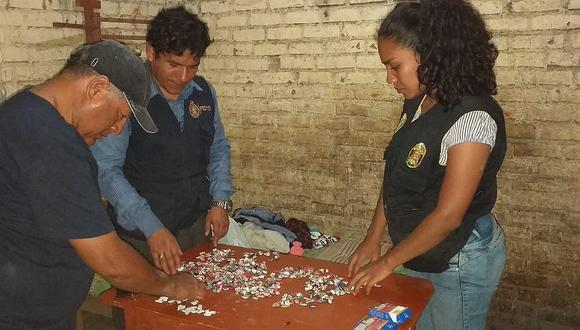 Intervienen clan familiar dedicado a la venta de droga en Chiclayo